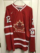 NWT Jarome Iginla #12 Nike Team Canada Jersey Vancouver 2010 Olympics Size M