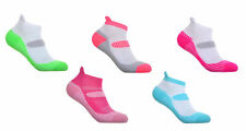 5 Pairs of Womens Running Socks - Ankle & Arch Support Padded Lightweight