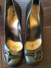Women's Gucci Shoes , Dark Green Color, IT Size 38.5, Used