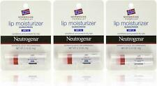 3x Neutrogena Lip Moisturizer SPF15 0.15 Oz Each US SELLER