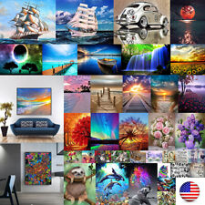 5D Diy Full Square Drill Diamond Painting Dolphin Cross Stitch Embroidery Decor