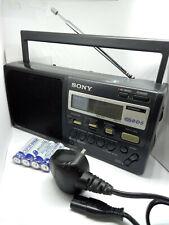 Sony ICF-M50 RDS 3 Band FM LW MW Radio Receiver ICF-M50RDS Clock Radio Data