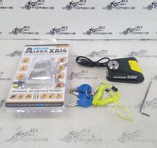 Alpha XA14 Alarm Disc Lock(14mm pin) Black/Yellow SECURITY *BARGAIN*