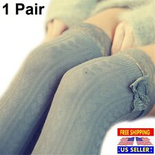 1 Pair Sexy Thigh High Over The Knee Socks For Girls Lady Women Long Legs Cotton