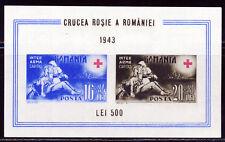 ROMANIA 1943  ROMANIAN RED CROSS  SOUVENIR SHEET SCOTT  B206  $8