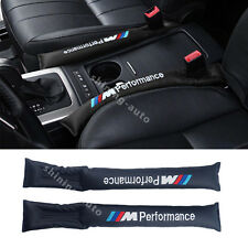 2x ///M Leather Car Seat Cover Gap Padding Holster Filler for BMW E30 E60 E90 X5