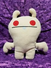 UglyDoll Plush Picksey white Bat Rare Retired Collectible Weird Stuffed Animal