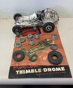 Roy Cox Thimbledrome Car With Brochure
