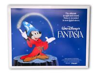 """FANTASIA"" ORIGINAL 11X14 AUTHENTIC LOBBY CARD POSTER PHOTO 1982 TITLE DISNEY #1"