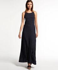 Womens Superdry Dresses Various Styles & Colours AX - Slinky Navy Ikat Dot XXS