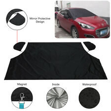 Magnetic Car Windshield windscreen Cover Waterproof Frost Sunshade Protector USA