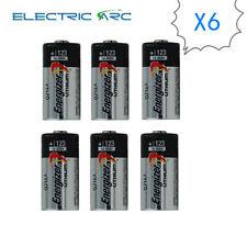 6X Energizer CR123A CR17345 DL123A CR123 EL123 3V Lithium Batterise EXP2024