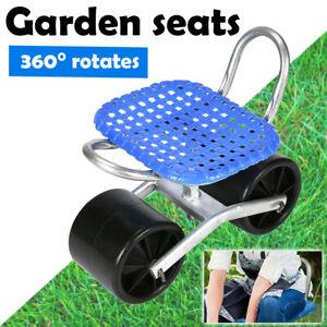 HEIGHT ADJUSTABLE, PORTABLE, 360Deg ROTATES GARDENING SEATS / STOOL KNEELING PAD