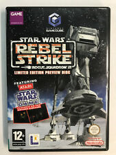Nintendo GameCube STAR WARS LIMITED ORIGINAL ARCADE GAME + PREVIEW RS3