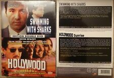 DOUBLE DVD SWIMMING WITH SHARKS + HOLLYWOOD SUNRISE Kevin Spacey Sean Penn