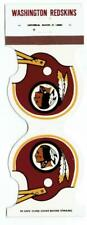 WASHINGTON REDSKINS ~ 1979 Football Schedule Match Book ~ FREE SHIPPING