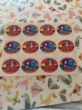 Vintage Lisa Frank Sticker Sheet Dinosaurs Triceratops Brontosaurus