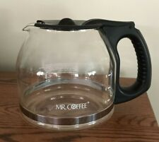 12 Cup Glass Replacement Carafe Pot for Mr. Coffee Maker Black Lid Handle
