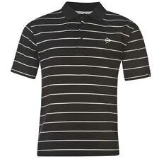 Camicie casual e maglie da uomo nero a righe