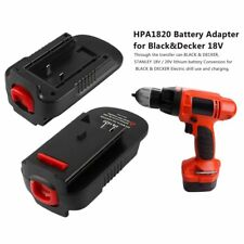 20V Battery Adapter for Black & Decker HPA 1820 18V/20V Tool Convert Battery
