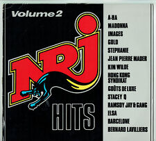 """33T NRJ HITS N°2 Disque Vinyle LP 12"""" A-HA GOLD WILDE LAVILLIERS MADER MADONNA"""