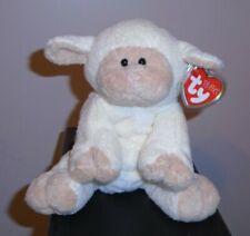 Ty Pluffies ~ BASHFULLY the Lamb (8 Inch) MWMT ~ Stuffed Plush Toy