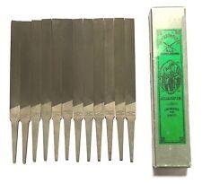 """Nicholson 4"""" Hand File Second Cut 12 Pack 05675N"""
