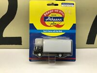 Athearn HO Scale Ford C Series with Van Body Black Cab Unmarked New Old Stock