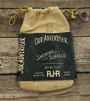 Our Advertiser Smoking Tobacco Pouch - RJR - R.J. Reynolds - Winston-Salem N.C.