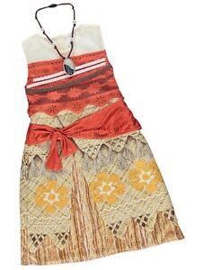 BRANDNEW AND UNWORN ( DISNEY MOANA DRESS ) GIRLS DISNEY DRESS