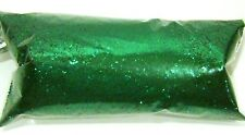 "2oz / 59ml Rich Emerald Green .015"" Metal Flake Auto Paint Additive Flakes LF112"