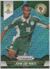 2014 Prizm World Cup ~ JOHN OBI MIKEL Blue Pulsar (National Packs) #152 Nigeria
