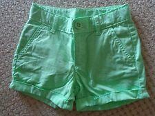 GAP  Green Shorts Cuffed Legs  Size 7    EEUC