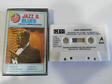 LOUIS ARMSTRONG JAZZ & BLUESA CINTA TAPE CASSETTE 1993 SPAIN EDITION