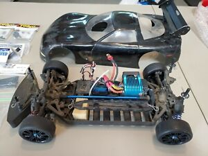 TC3 1/10 Scale Remote Control Car With Lots of Extras & LRP brushless system