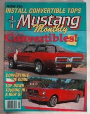 MUSTANG MONTHLY 1989 MAY - GT350-WEBER, SPORTS SPRINT