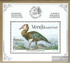 Venda Bloque 3 (completa.edición.) nuevo con goma original 1987 aves acuáticas