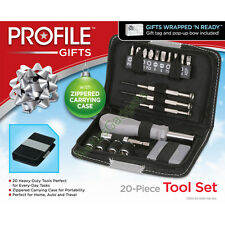 20 Piece Tool Kit Set Tape Measure Screwdriver Ratchet Tools Mini Screw Drivers