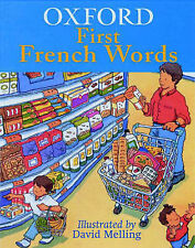 OXFORD FIRST FRENCH WORDS, Hachette Children's Books, New Book