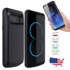 External Battery Backup Charger Case Cover Power Bank For Samsung Galaxy S8 Plus