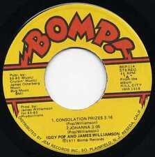 "IGGY POP & JAMES WILLIAMSON ""CONSOLATION PRIZES"" ORIG US 1977"