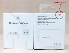 Sealed Pack Genuine Apple 30-pin to USB Cable(1m)