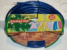 CLOTHES LINE 20 METER NYLON COATED MULTI STRAND WIRE- NEW