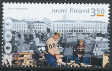 Finland 2000 Used Stamp Helsinki Town 450 Years - Fish Market - First Day Cancel