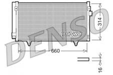 Kondensator, Klimaanlage DENSO DCN36003 für SUBARU