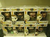 WALKING DEAD BOXED POP VINYL FIGURES SOME RARE & VAULTED OOP MORE TO COME