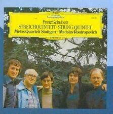 Schubert String Quintet D 956 Mstislav Rostropovich Audio CD