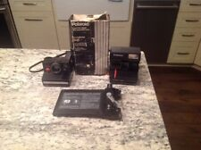Polaroid 600 One Step Flash Pronto RF Instant Cameras & Land Film Holder 545