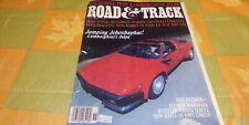 Road Amp Track Magazine November 1982 Lamborghini Jalpa