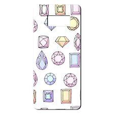Para Samsung Galaxy S8 Silicona Funda Bling Diamantes Rosa Violeta Amarillo-S660